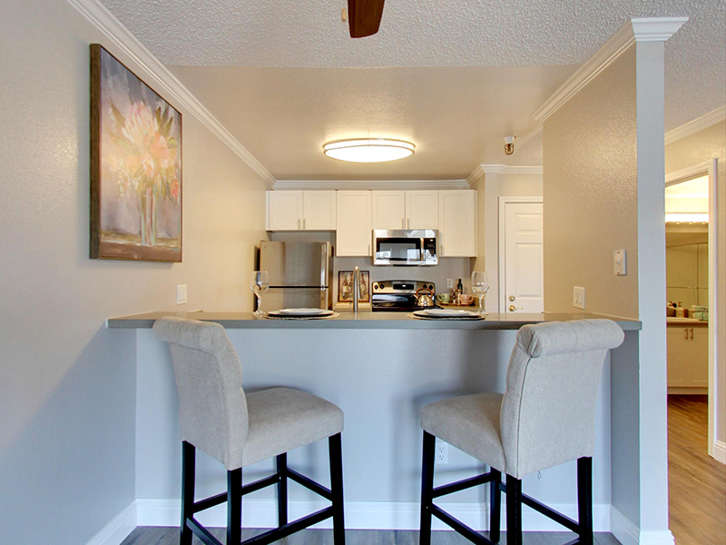 Dining Room | Coral Court Apartments