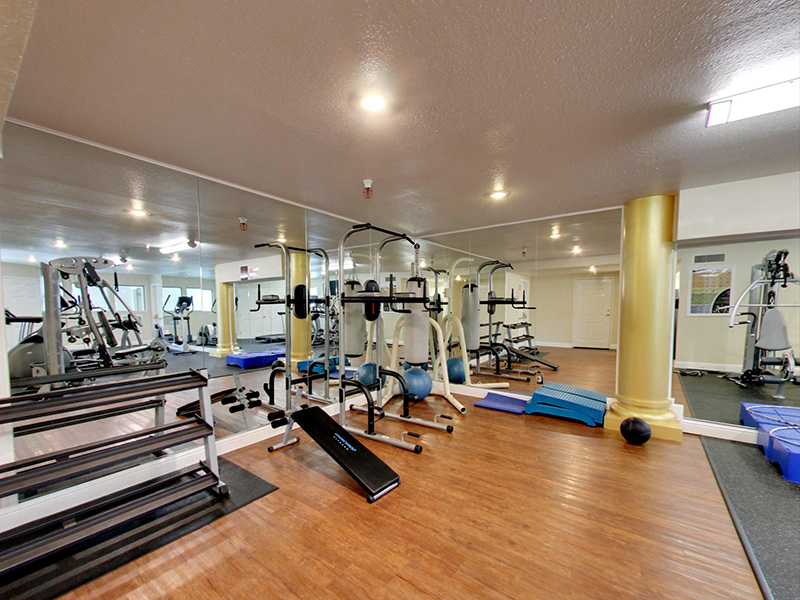 Fully Equipped Fitness Center | Coral Court Apartments