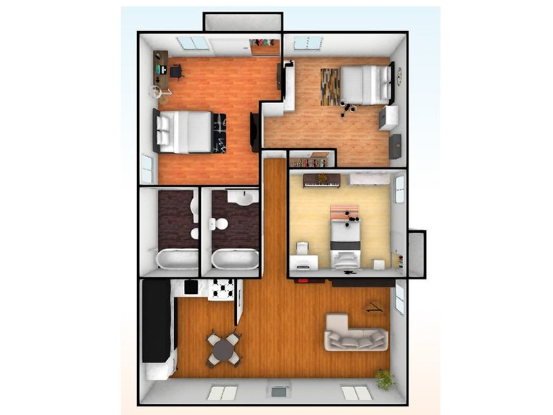 Our 3 Bedroom 1.5 Bathroom is a 3 Bedroom, 1.5 Bathroom Apartment
