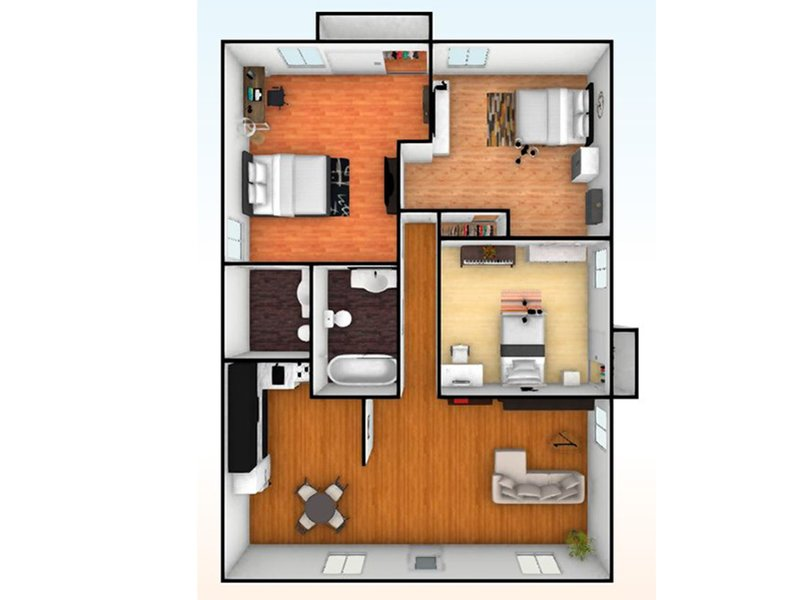 Our 3 Bedroom 2 Bathroom is a 3 Bedroom, 2 Bathroom Apartment