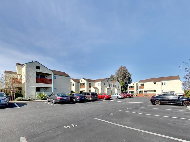 Parking Lot | Hampshire Apartments in Redwood City, CA