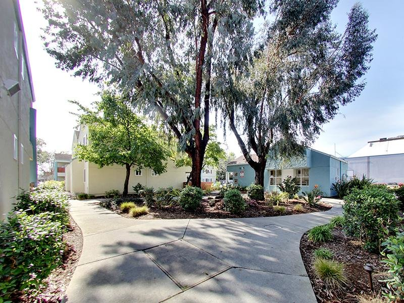 Walking Paths | Hampshire Apartments in Redwood City, CA