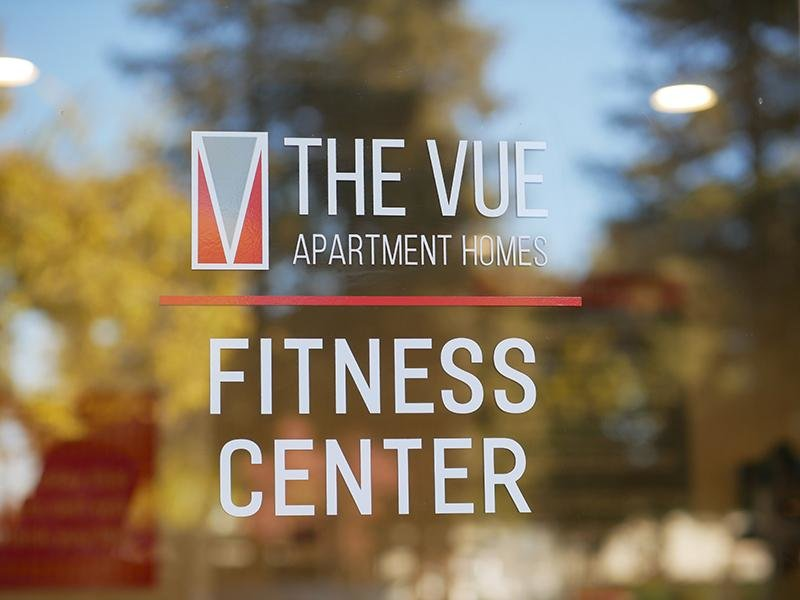 Fitness Center Sign | The Vue