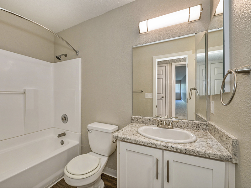 Bathroom | The Vue Apartments in Sacramento, CA