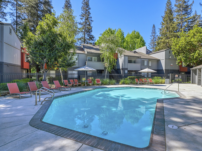 Shimmering Pool | The Vue Apartments in Sacramento, CA