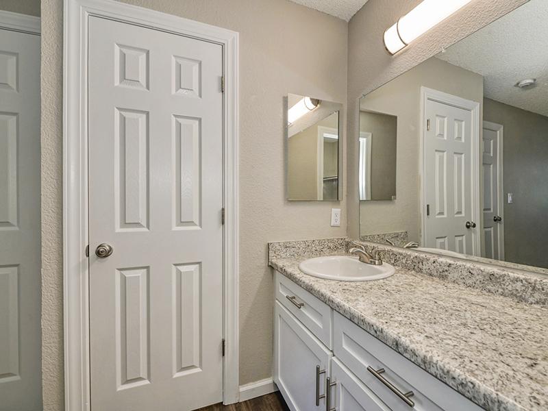 Bathroom Countertops | The Vue Apartments in Sacramento, CA