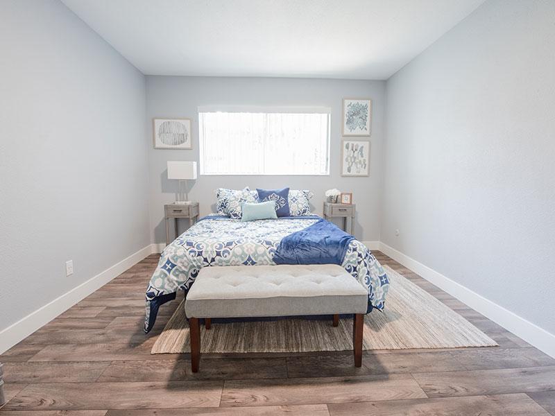 Bedroom | Aspenwood Apartments in West Valley City