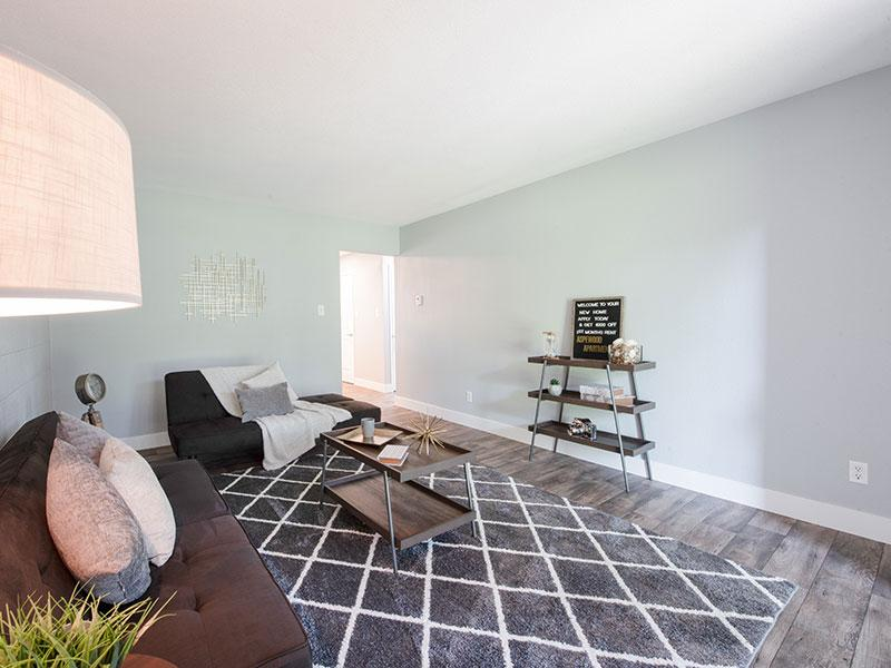 Living Room | Apartments in West Valley City, UT