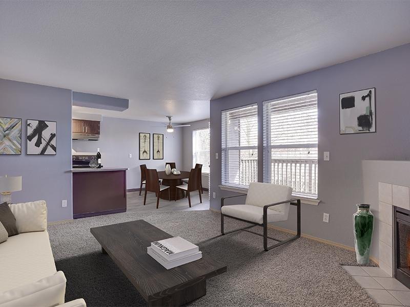 Living Room 2 Bedroom | Stark Street Crossing