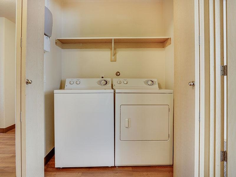 Washer and Dryer | Stark Street Crossings Apartmen