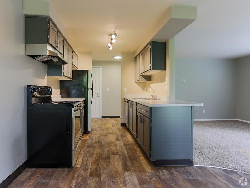 Kitchen Gray Cabinets | Stark Street Crossings