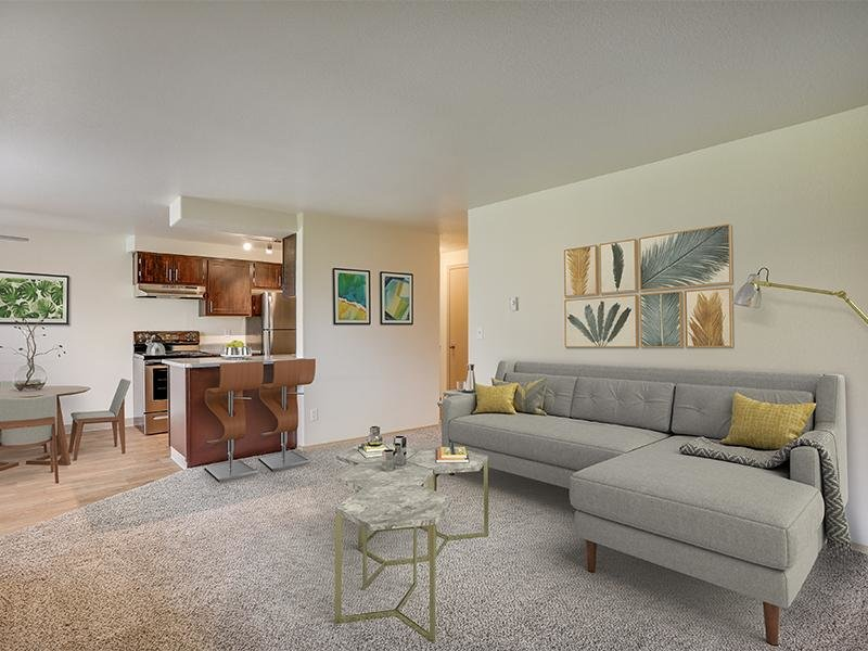 Living Room 3 Bedroom | Stark Street Crossing