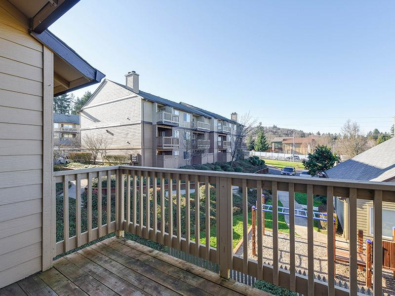 Apartments With Private Balcony View | Powell Valley Farms Apartments in Gresham OR