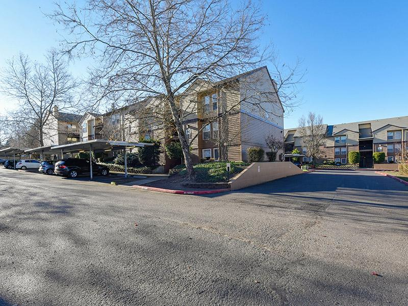 Apartment Building Exterior | Powell Valley Farms Apartments in Gresham OR