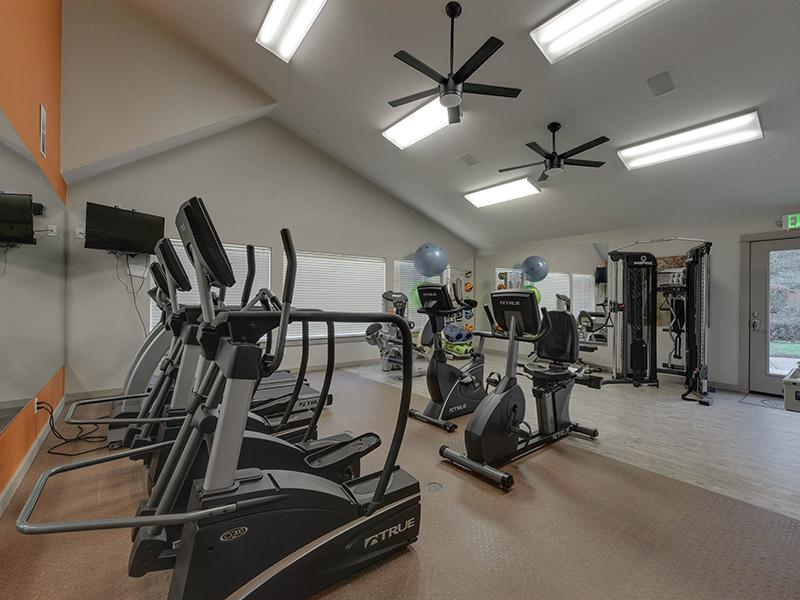 Apartment Fitness Center | Powell Valley Farms Apartments in Gresham OR