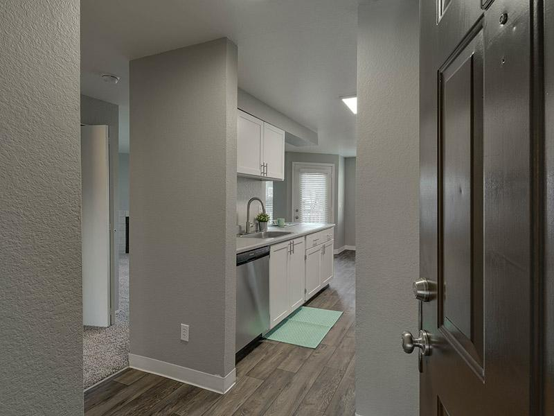 Apartment Entryway | Powell Valley Farms Apartments in Gresham OR