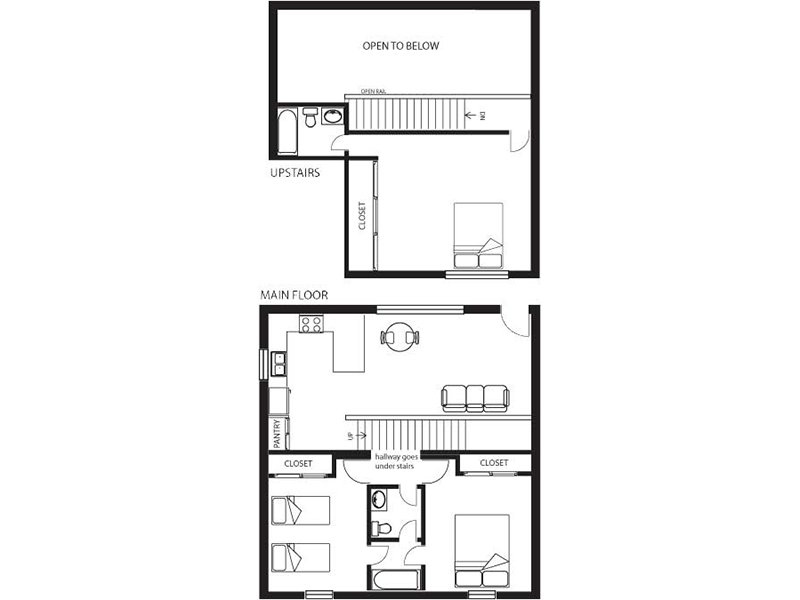 Our 3x2 Townhome  is a 3 Bedroom, 2 Bathroom Apartment