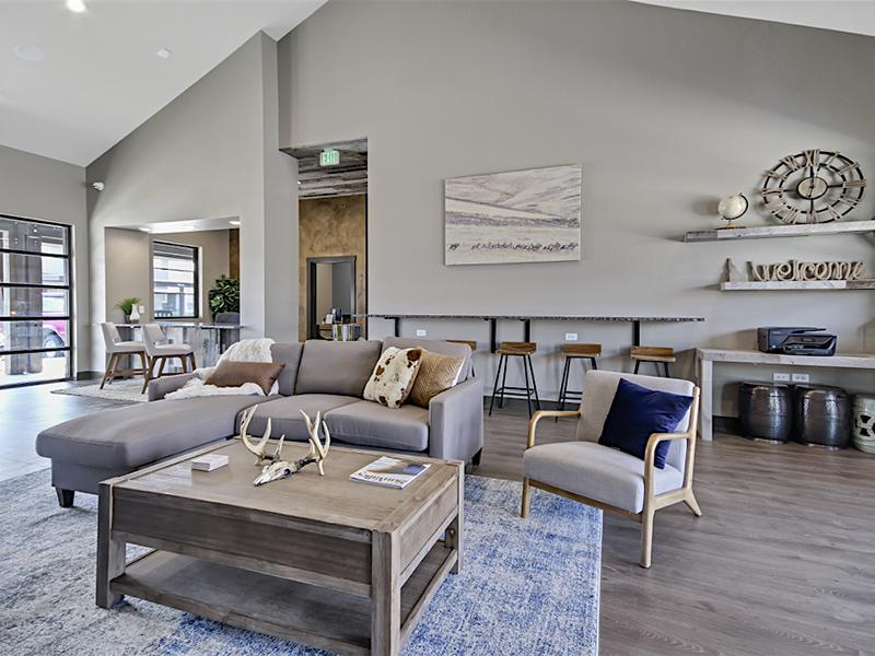 Clubhouse Interior | Stonesthrow Townhomes in Meridian ID