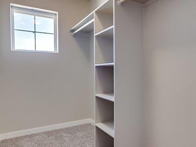 Walk In Closets | Stonesthrow Townhomes  in Meridian, ID