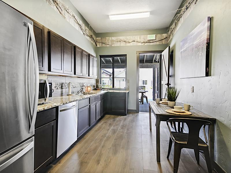 Clubhouse Kitchen | Stonesthrow Townhomes in Meridian, Idaho