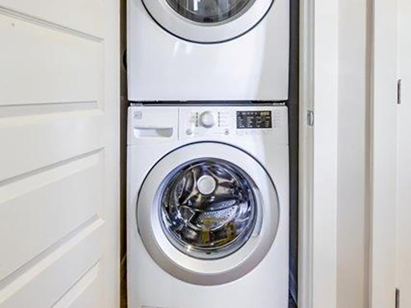 Stacked Washer & Dryer | Stonesthrow Townhomes in Meridian, ID