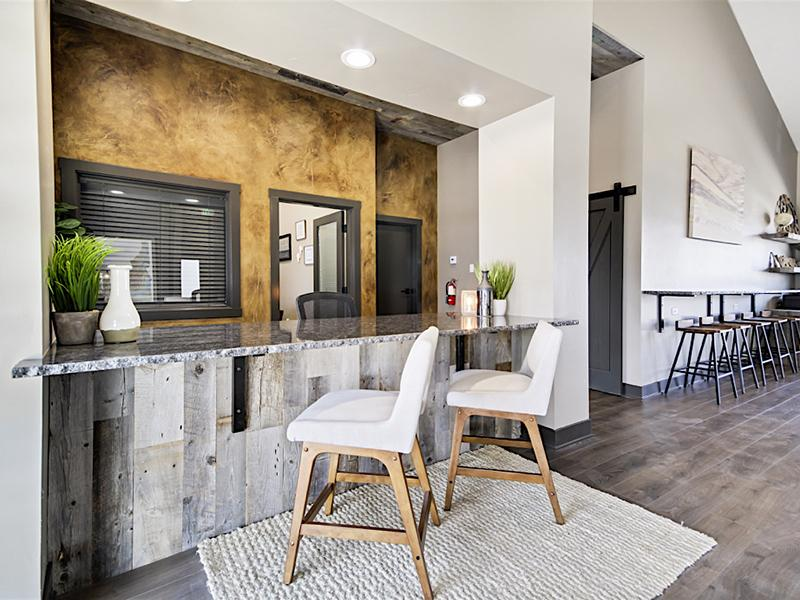 Clubhouse Kitchen | Stonesthrow Townhomes in Meridian ID