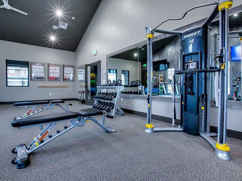 Gym | Cottages at Stonesthrow Meridian Townhomes