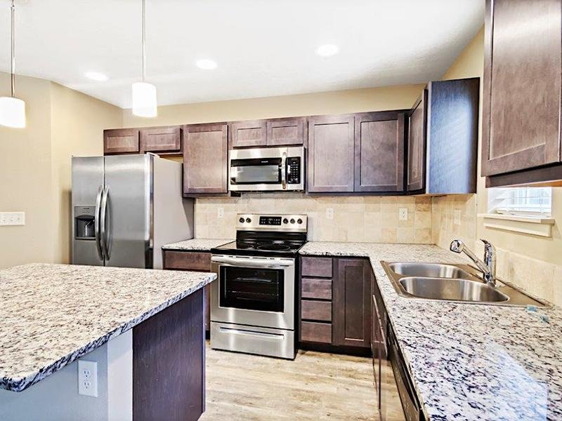 Spacious Kitchen | Cottages at Stonesthrow 83642 Townhomes