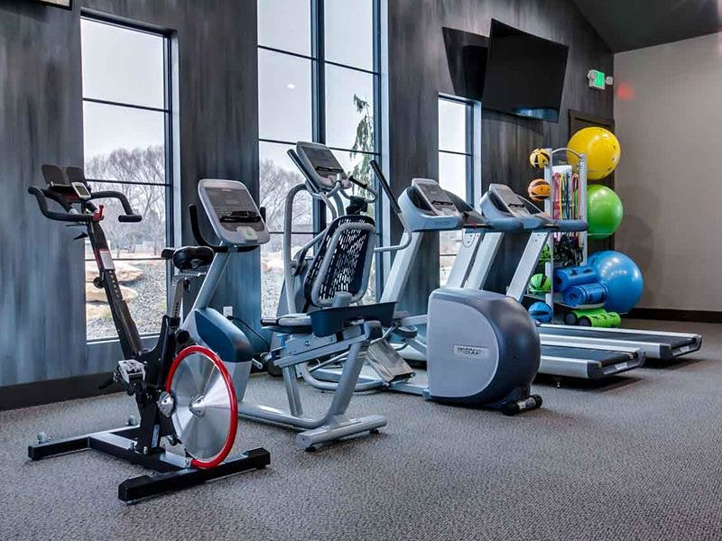 Cardio Machine  | Cottages at Stonesthrow Meridian Townhomes