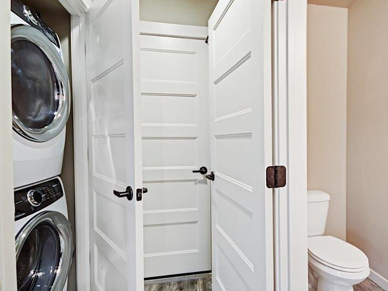 Washer & Dryer | Cottages at Stonesthrow Townhomes in Meridian, ID