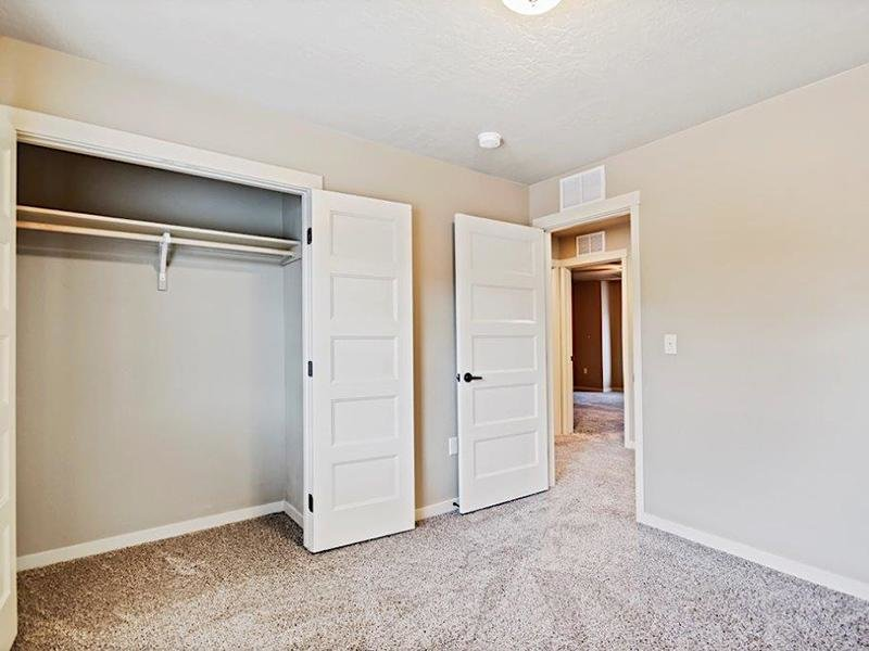 Closet Space | Cottages at Stonesthrow Townhomes in Meridian, ID