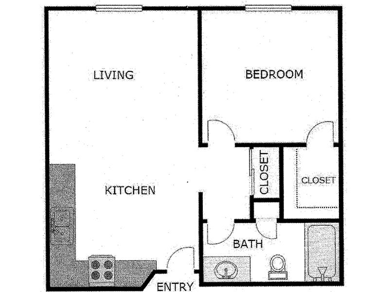 Our 1 Bedroom Villa is a 1 Bedroom, 1 Bathroom Apartment