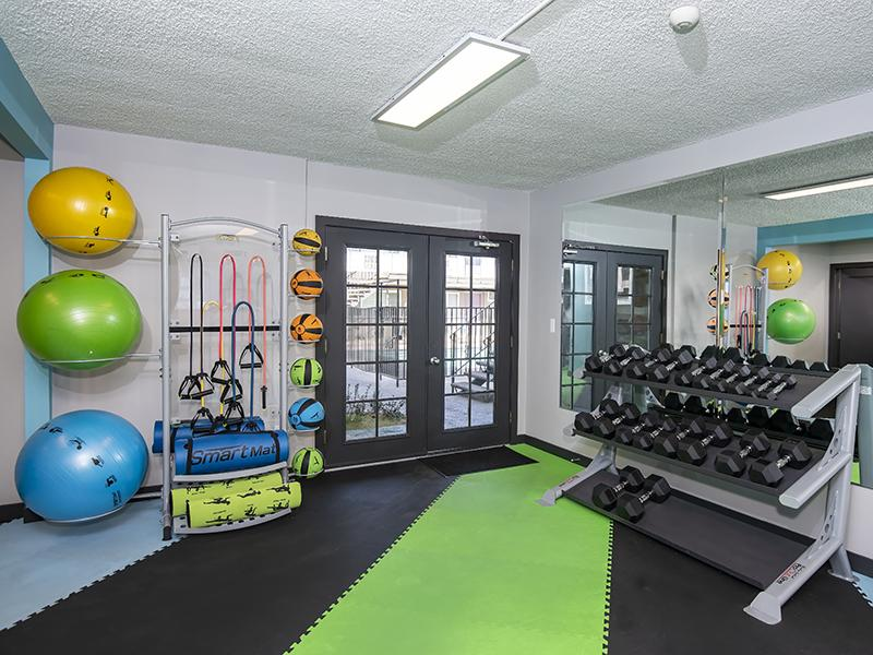Gym | Luxe at Burbank