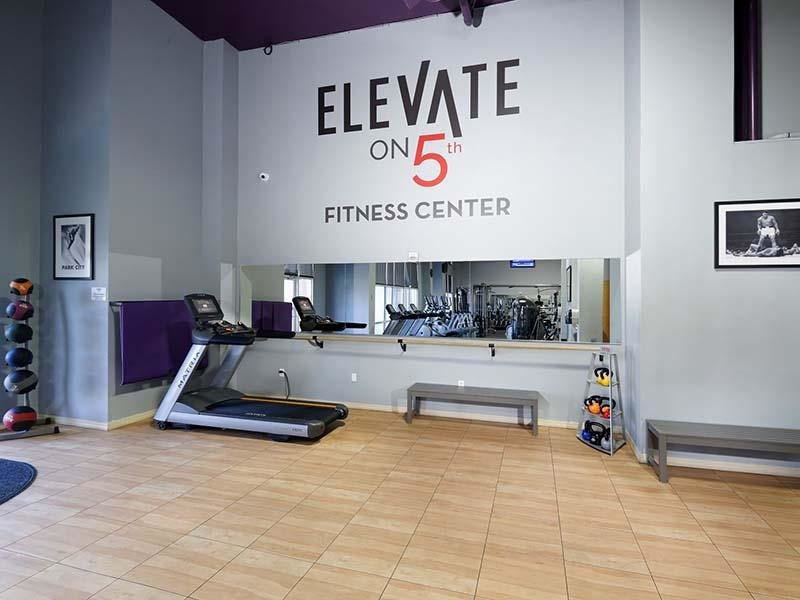 Apartments in Salt Lake City with a Gym   Elevate on 5th