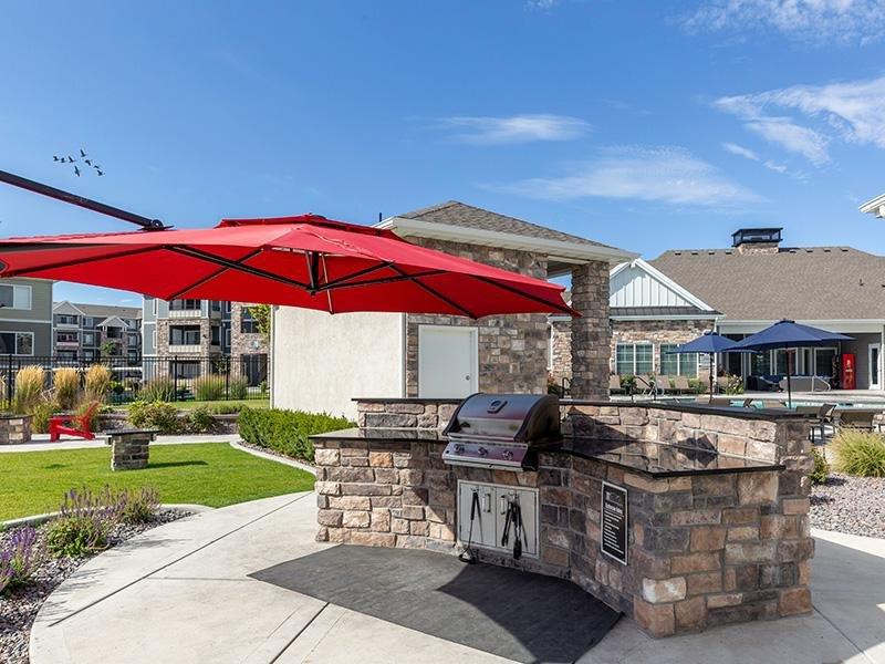 BBQ Area | Herriman Towne Center