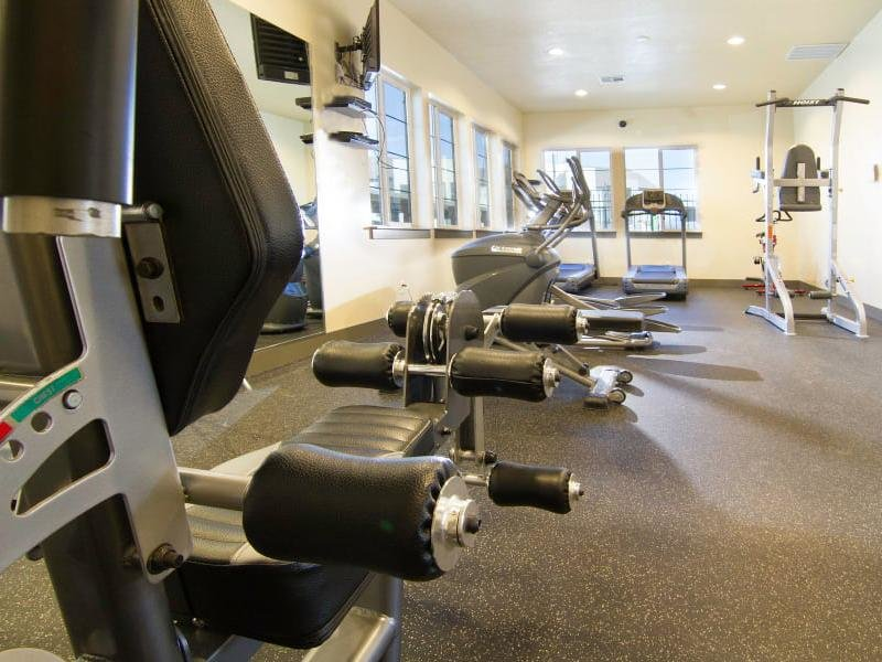 Gym | Wilshire Place