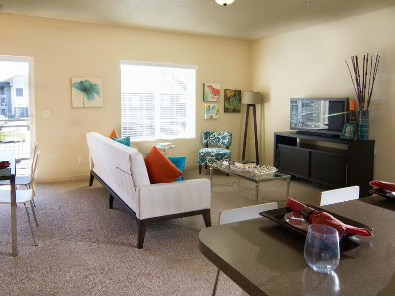 Living Room | Wilshire Place