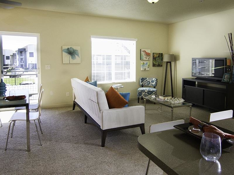 Living Room   Wilshire Place