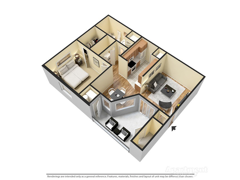 Floor Plans at Woodgate Apartments
