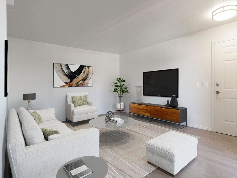 Living Room | Woodgate Apartments