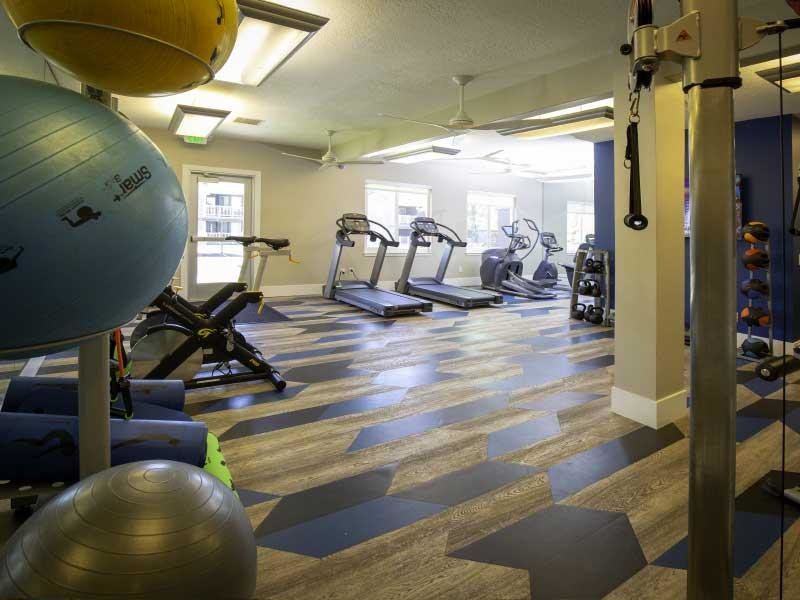 Gym | Woodgate Apartments