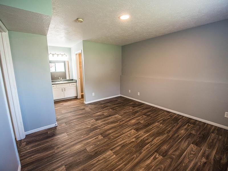 Hardwood and Sink | Hidden Cove Apartments