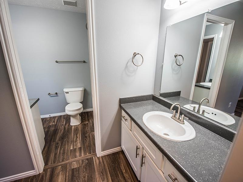 Sink and Toilet | Hidden Cove Apartments