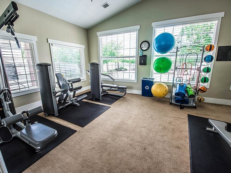 Exercise Equipment | Hidden Cove Apartments