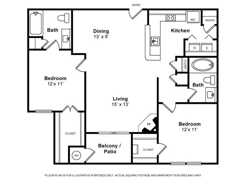 Floor Plans at Preston Hollow Apartments