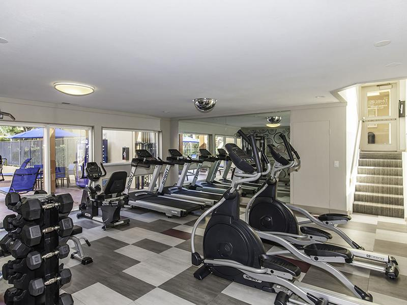 Fitness Center |  The Timbers Apartments in Hayward, CA