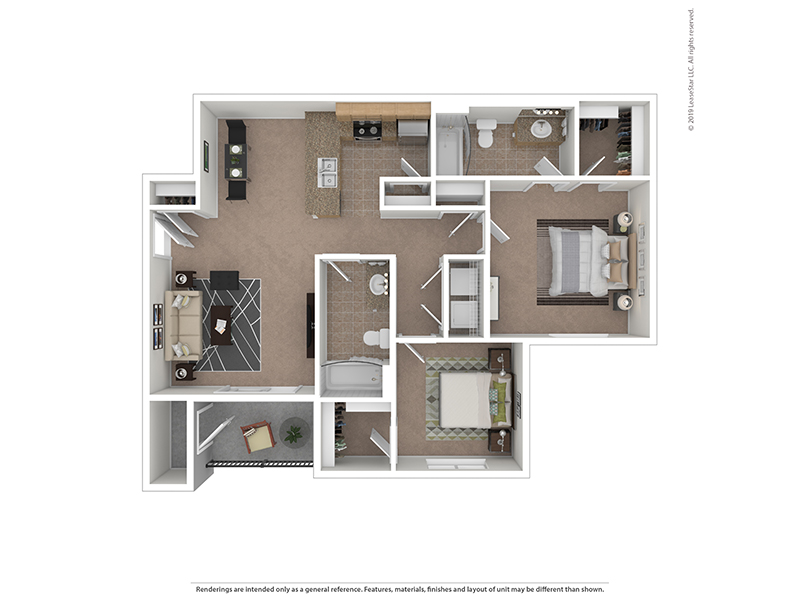 Floor Plans at Ridgeview Apartments