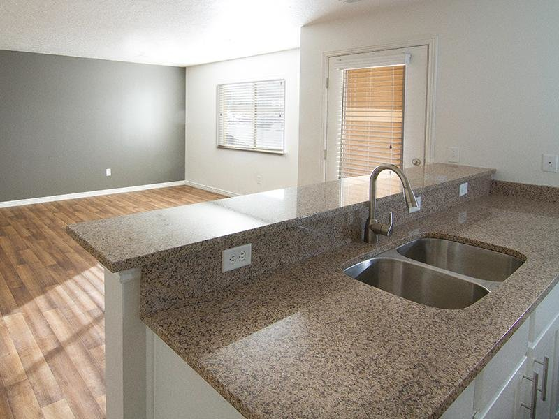 Granite Countertops | Ridgeview Apartments