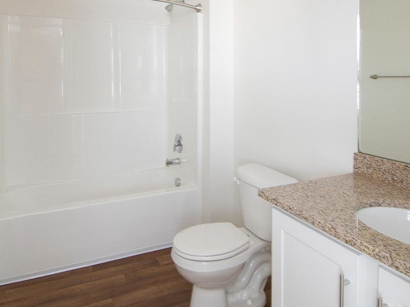 Bathroom | Ridgeview Apts in North Salt Lake City