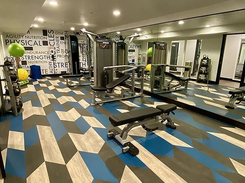 Fitness Center | Downtown West Apartments in Salt Lake City, UT